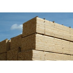 Sawn Softwood Treated Cladding Battens 25mm x 50mm