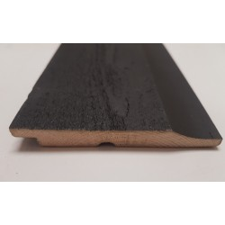 Black Cape Cod Shiplap Cladding 18mm x 137mm - To Clear