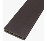 Brown Luna Composite Anti-slip decking 3m and 4m lengths