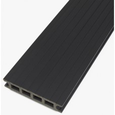 Luna Comp Timber Composite Grey Decking Boards 26mm x 140mm