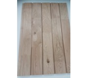 European Oak Finger Jointed 25 X 150 Vertical Half Lap Cladding K/D