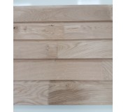 European Oak Finger Jointed 25 X 150 Horizontal Half Lap Cladding K/D