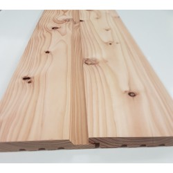 Home Grown Larch 25 X 150 Horizontal Half Lap Cladding K/D