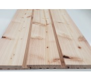 Home Grown Larch 25 X 150 Vertical Half Lap Cladding K/D