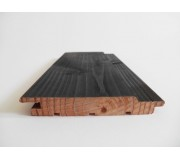 Sivalbp Douglas Fir Vintage Black Pre Coated Cladding 21mm x 125mm