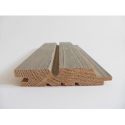 Sivalbp Siberian Larch New Age Pre Coated Cladding 27mm x 125mm