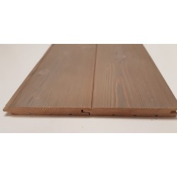 Sivalbp New Age Gris Chanfrea Larch Timber Cladding 21mm x 165mm - To Clear