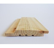 European Larch Horizontal Cladding 25mm x 150mm - To Clear