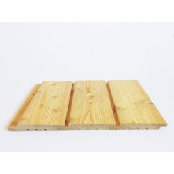 Siberian Larch Standard Cladding 25mm X 150mm KD