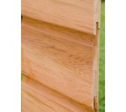 Cedar Horizontal Claddings