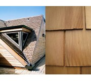 Untreated Cedar Roof Shingles