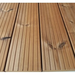 Thermowood Decking 26mm x 117mm