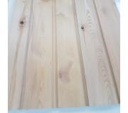 Siberian Larch 25 X 150 Vertical Half Lap Cladding K/D Premier