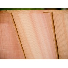 Western Red Cedar Vertical Cladding 25 X 150 (U Channel) AD 'Standard Range'