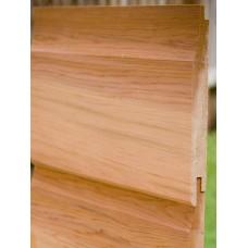 Western Red Cedar Horizontal Cladding 25 X 150 (Shiplap) AD 'Standard Range'