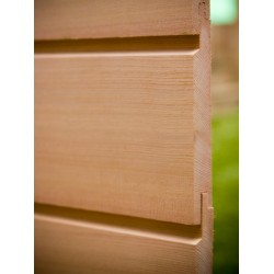 Western Red Cedar Horizontal Cladding 25 X 150 (U Channel) AD 'Standard Range'