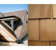 Cedar Shingles - Western Red Cedar Roof Shingles - Treated Blue Label