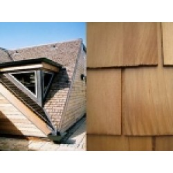 Cedar Shingles - Western Red Cedar Roof Shingles - Treated Black Label