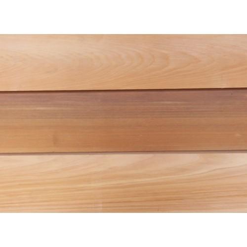 how to fix cedar cladding